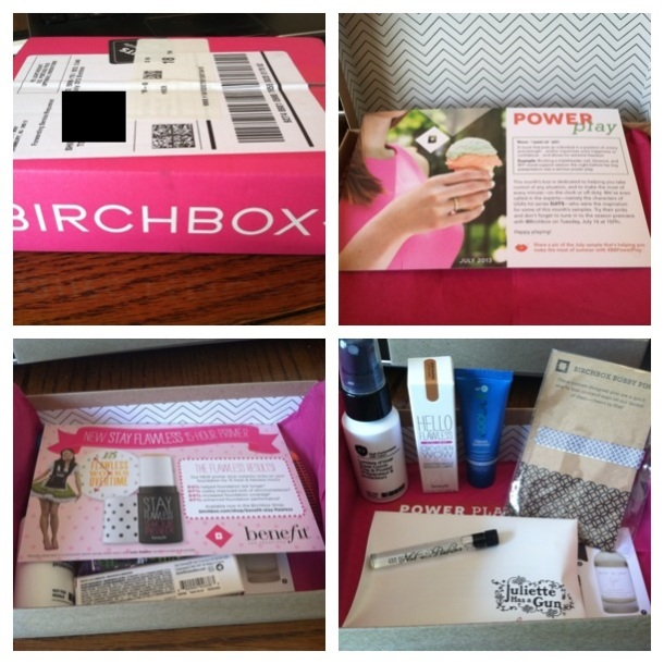 Birchbox July 13 Collage