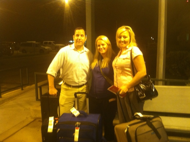 Finally got our suitcases at midnight on Tuesday!
