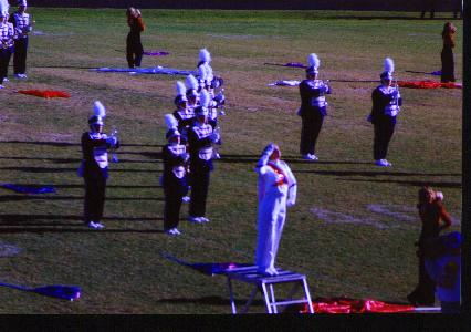 Me as Drum Major my senior year