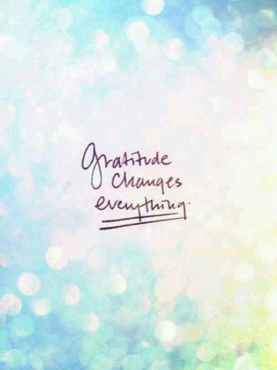 Keep a daily gratitude journal