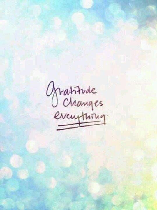 Keep a daily gratitude journal
