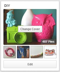 Complete 10 projects off my DIY Pinterest Board