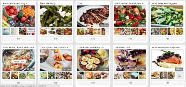 Try 20 recipes off my boards