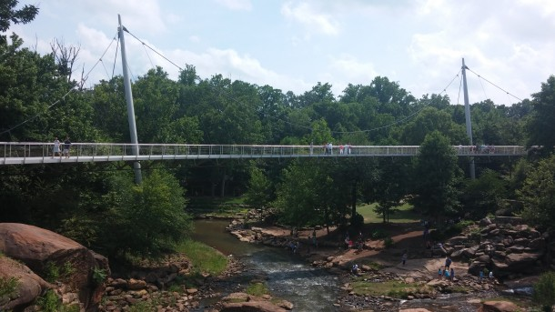 Liberty Bridge - Falls Park - Greenville, SC