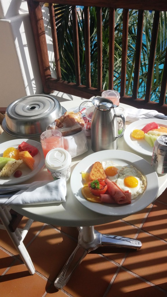 Room Service All-American Breakfast for 2