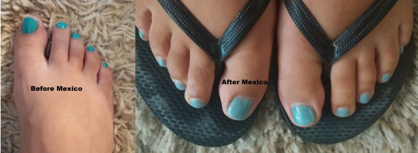 Before After Polish