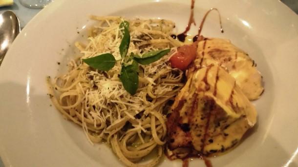 Marscapone-Stuffed Chicken at Il Olivo
