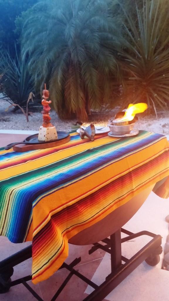 Tequila Skewer at La Hacienda