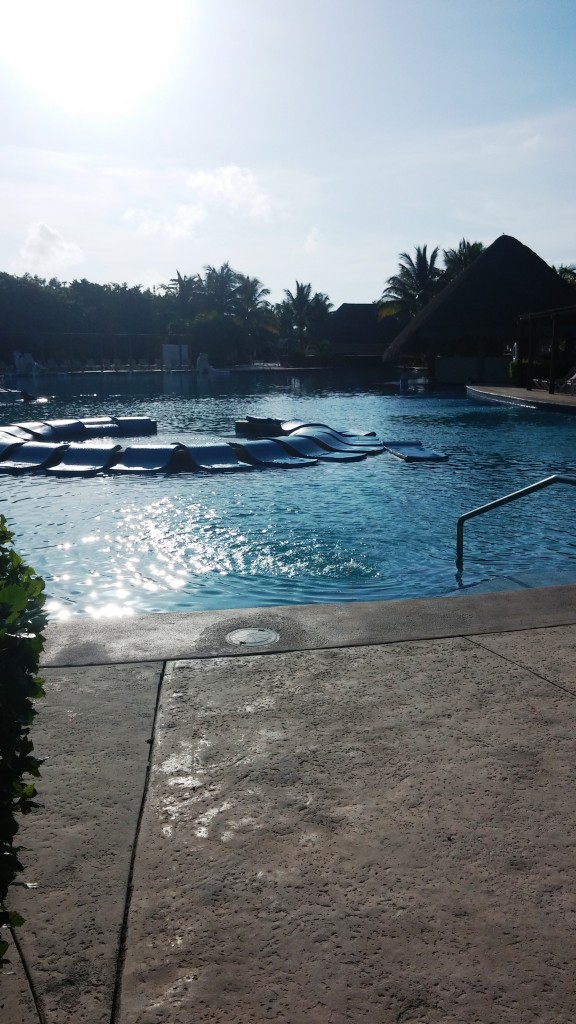 Main Pool in Morning