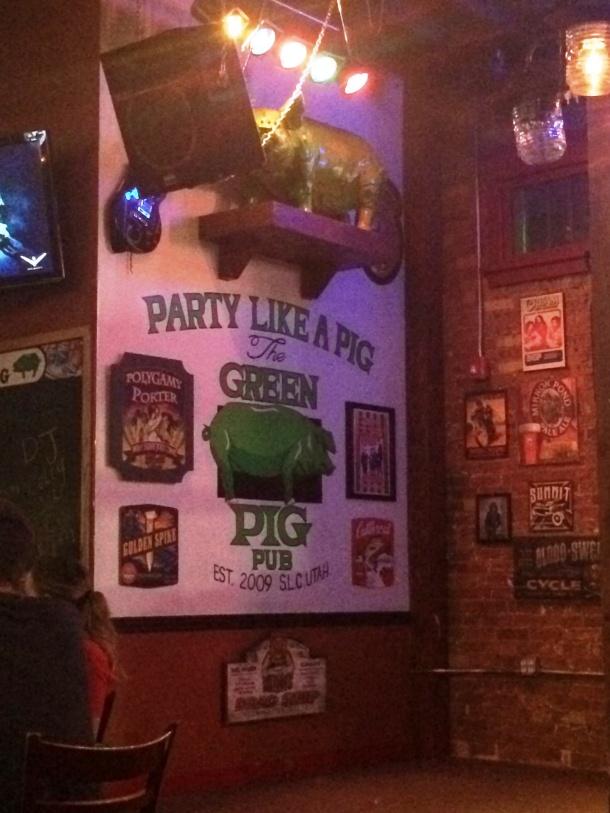 Green Pig SLC