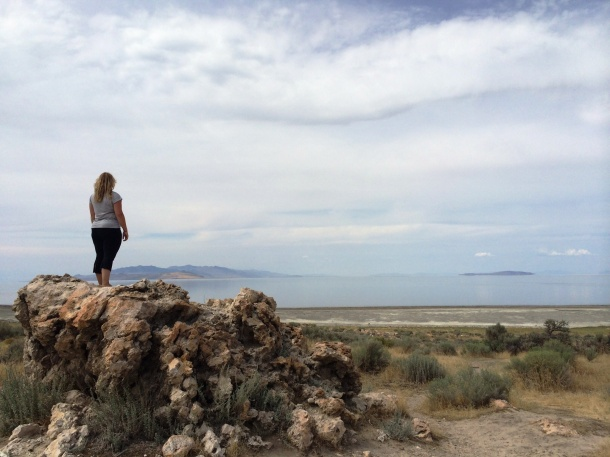 Looking at the Great Salt Lake