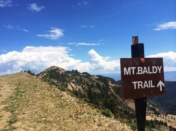 Mt Baldy Sign