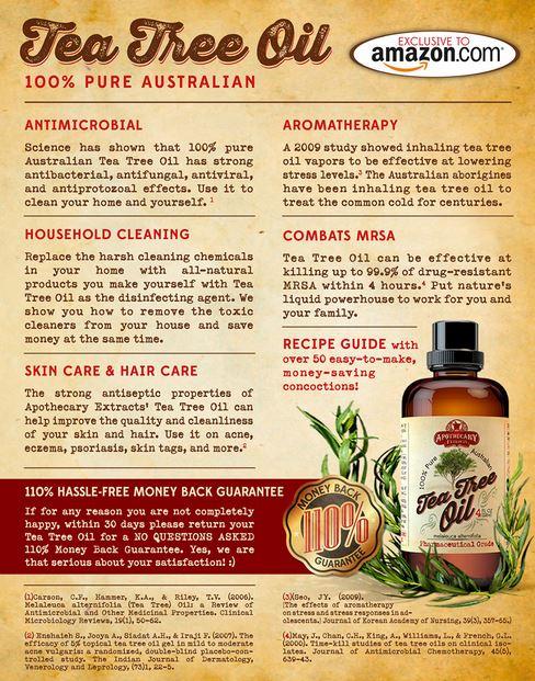 Tea Tree Oil Properties