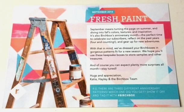 Birchbox Fresh Paint