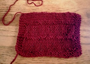 Left Before Seaming