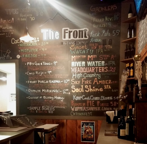 The Front Beer List - Great Falls