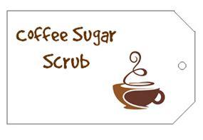 CoffeeSugarScrubTag