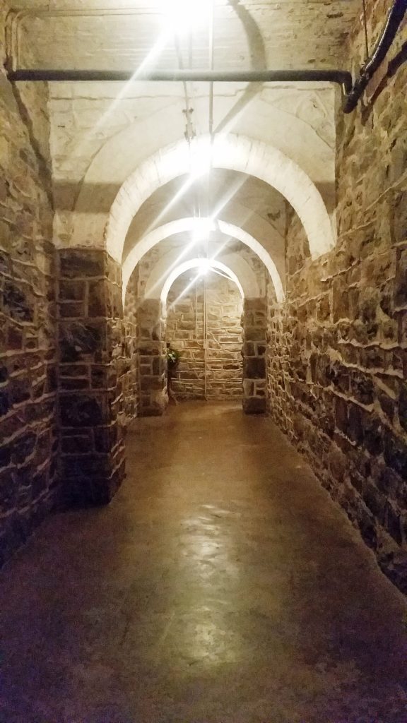 This is one of the tunnels in the basement. I just thought it was pretty.