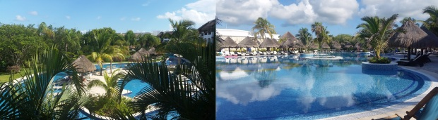 VIM quiet pool on left, CRT on right