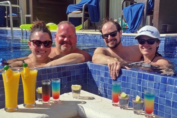 Making new friends at Royalton Riviera Cancun