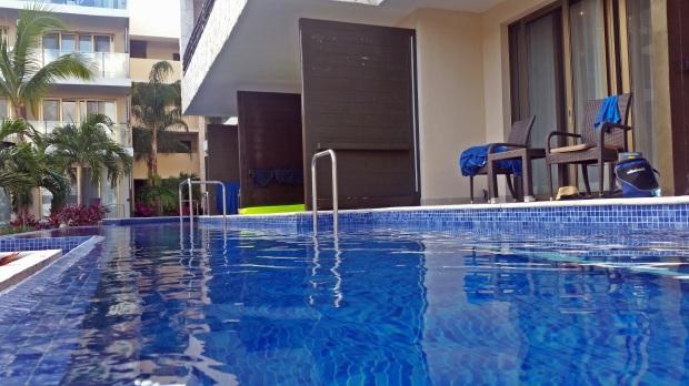 Swimup in the Hideaway at Royalton Riviera Cancun