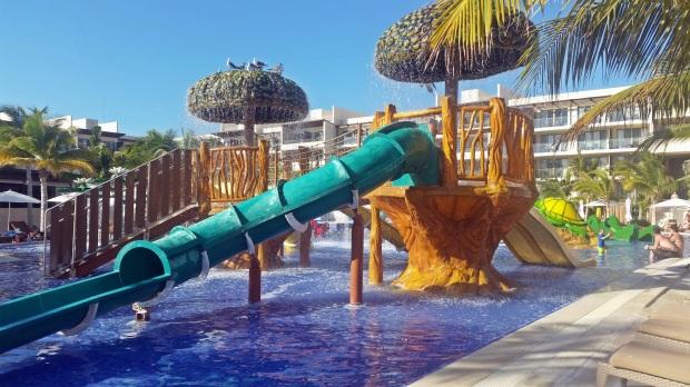 Kids pool at the Royalton Riviera Cancun