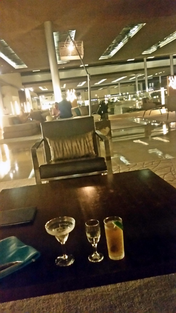 An accidental shot of the lobby interior at the Royalton Riviera Cancun. I blame the martini.