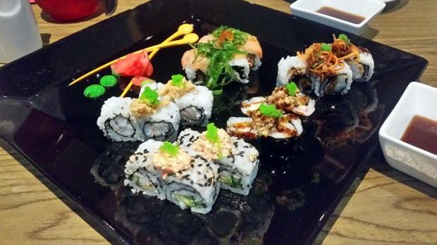 Sushi Sampler at Zen, Royalton Riviera Cancun